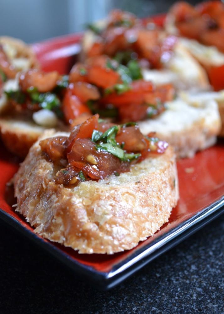 amazing bruschetta (no cheese needed) (5/5)