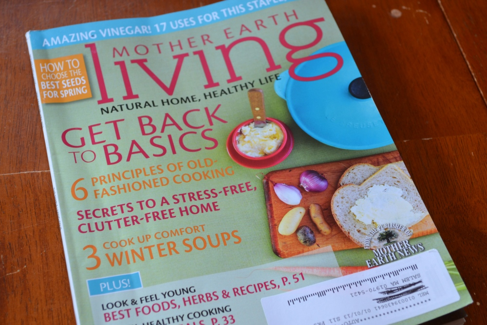new magazine Mother Earth Living gets 5 stars (2/4)