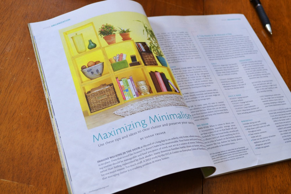new magazine Mother Earth Living gets 5 stars (3/4)