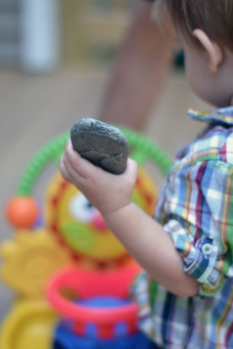 we marvel at the obsession with rocks (future geologist?)